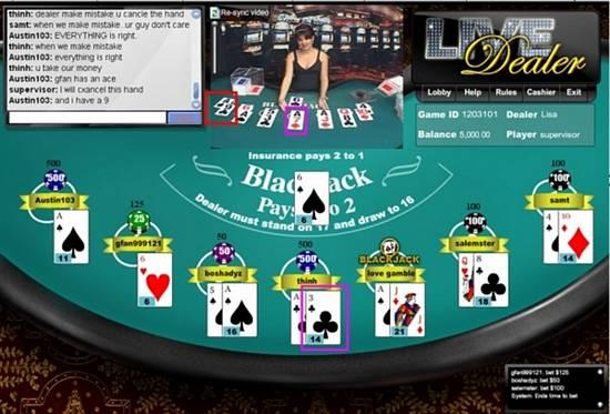5 dimes live dealer