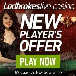 Ladbrokes Live Casino with HD Streaming