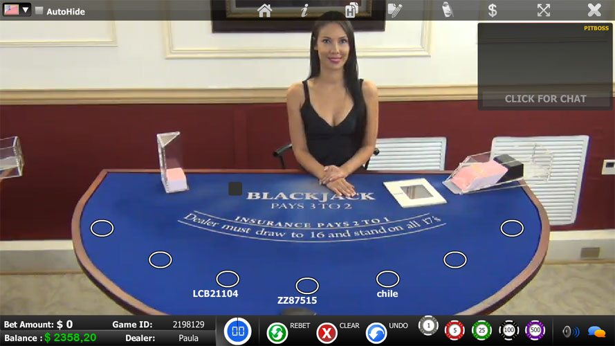 Nina blackjack