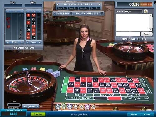 william hill live casino roulette